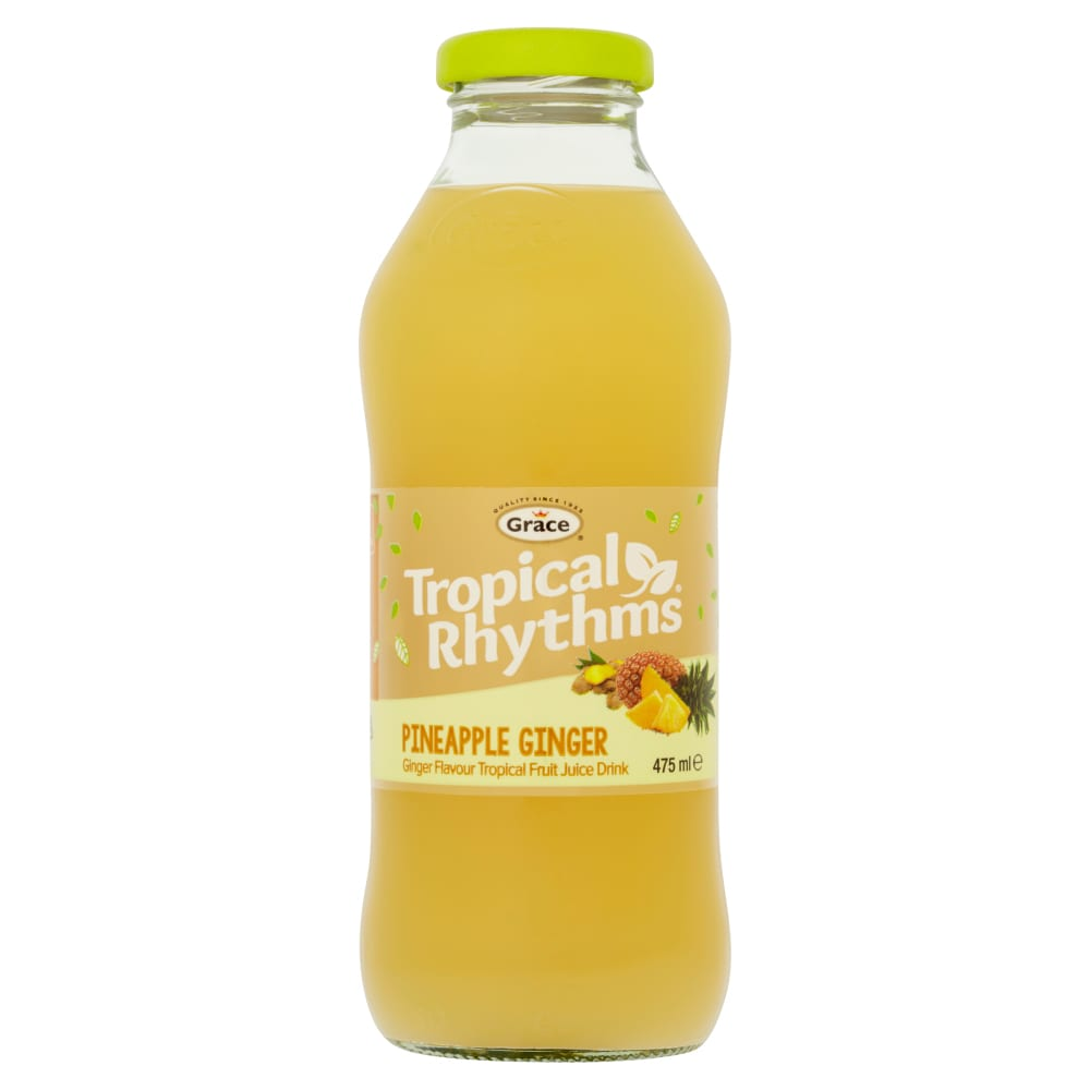 Tropical Rhythms Pineapple & Ginger Flavoured Drink