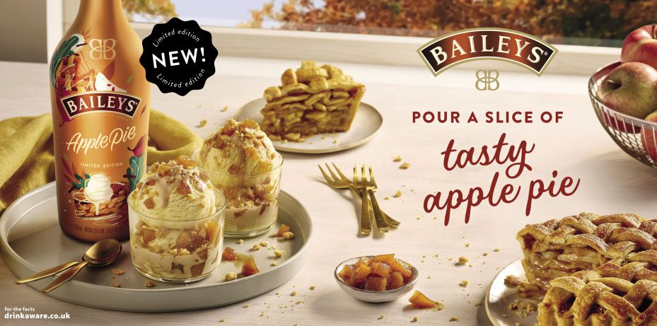 Baileys Apple Pie Limited Edition Flavour Banner